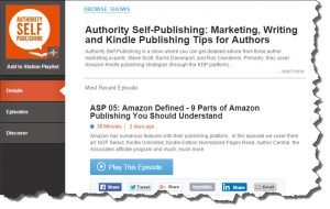 Authority Self-Publishing Podcast