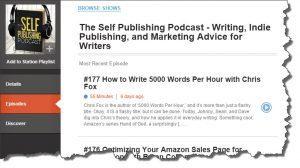 Self Publishing Podcast